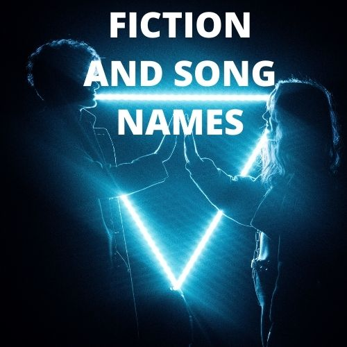 Creative chritistian song names by reading fiction